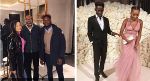 Billionaire, Femi Otedola gives his blessings to Temi and Mr Easy, as he asked when they will marry